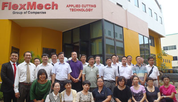 Tianjin Government Delegates Visit FlexMech