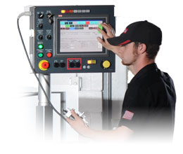 USER FRIENDLY HMI GC50 CONVERSATIONAL CONTROLLER