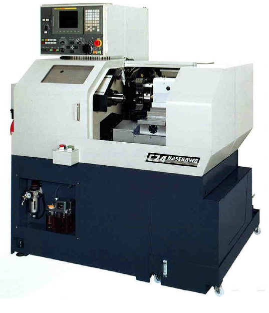 HASEGAWA C24 Compact Precision CNC Turret Lathe