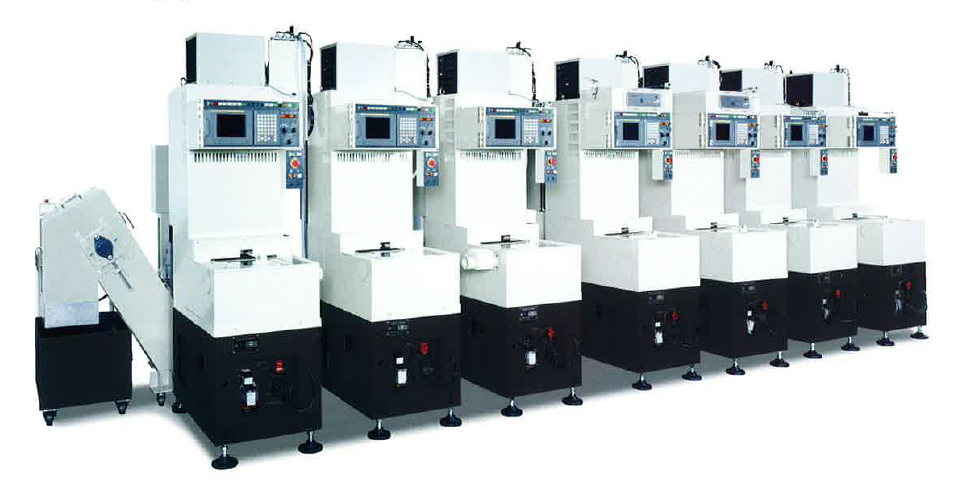 P Series Gang type Lathe stack