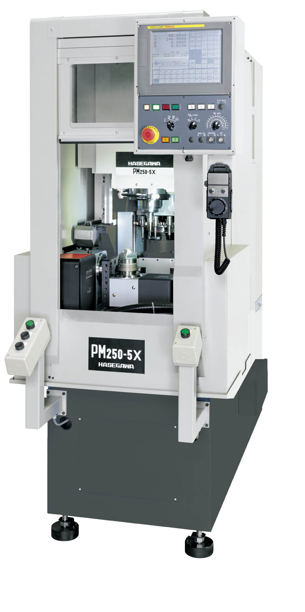 HASEGAWA PM-250/5X Ultra Compact PM Series Milling Center