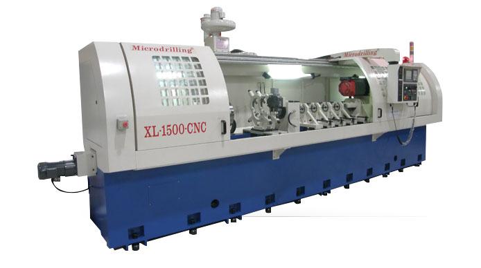 MICRODRILLING XL-3000 CNC Long Format Gun Drill