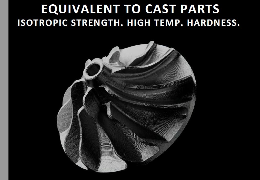 Markforged Metal X Printer Hardness