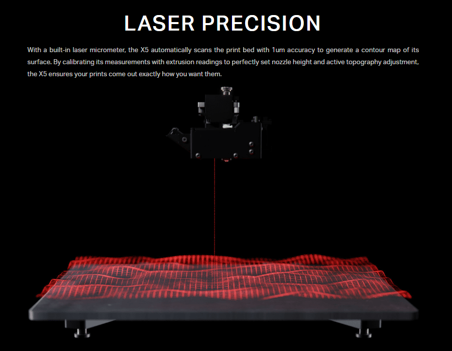 Markforged X Series Laser Precision