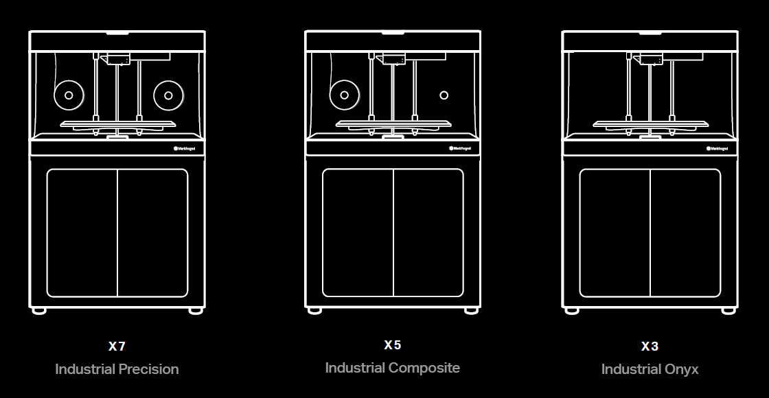 Markforged X Series Machine Range