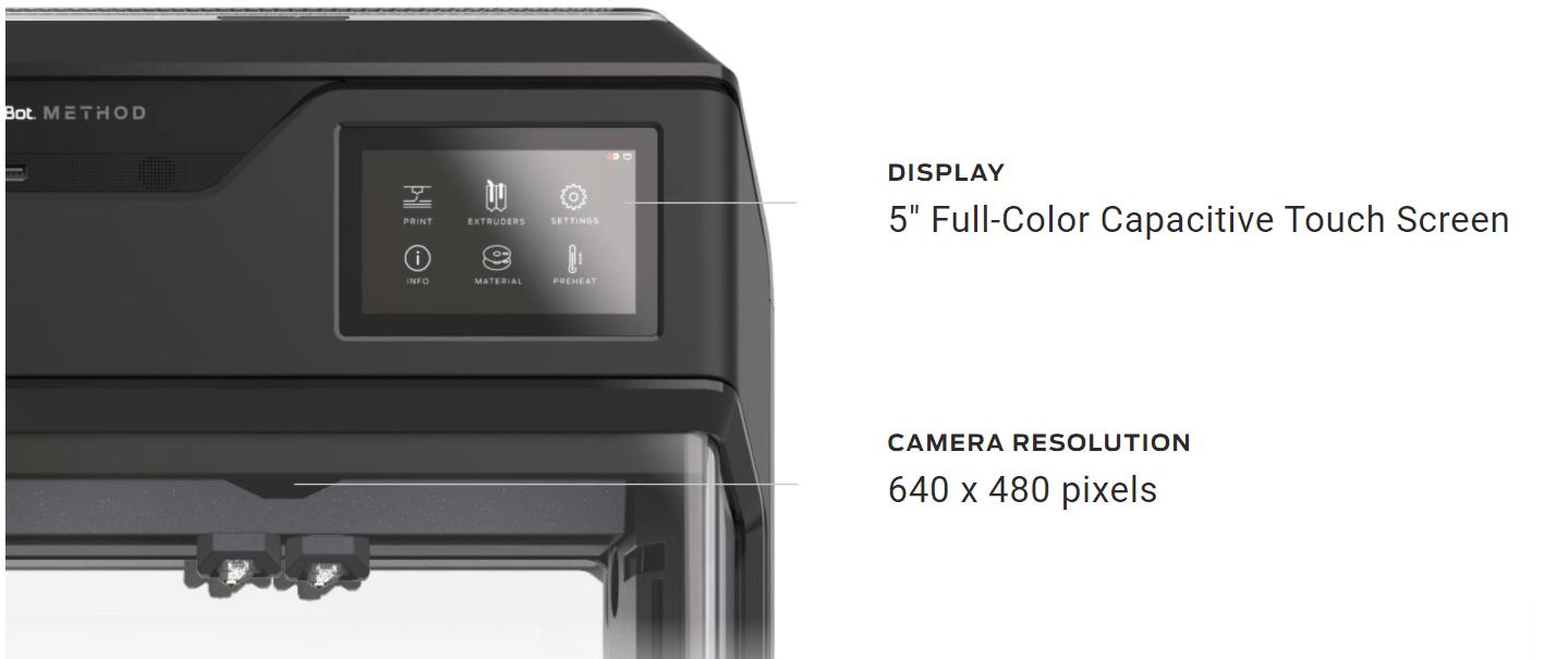 Stratasys MakerBot monitor specs