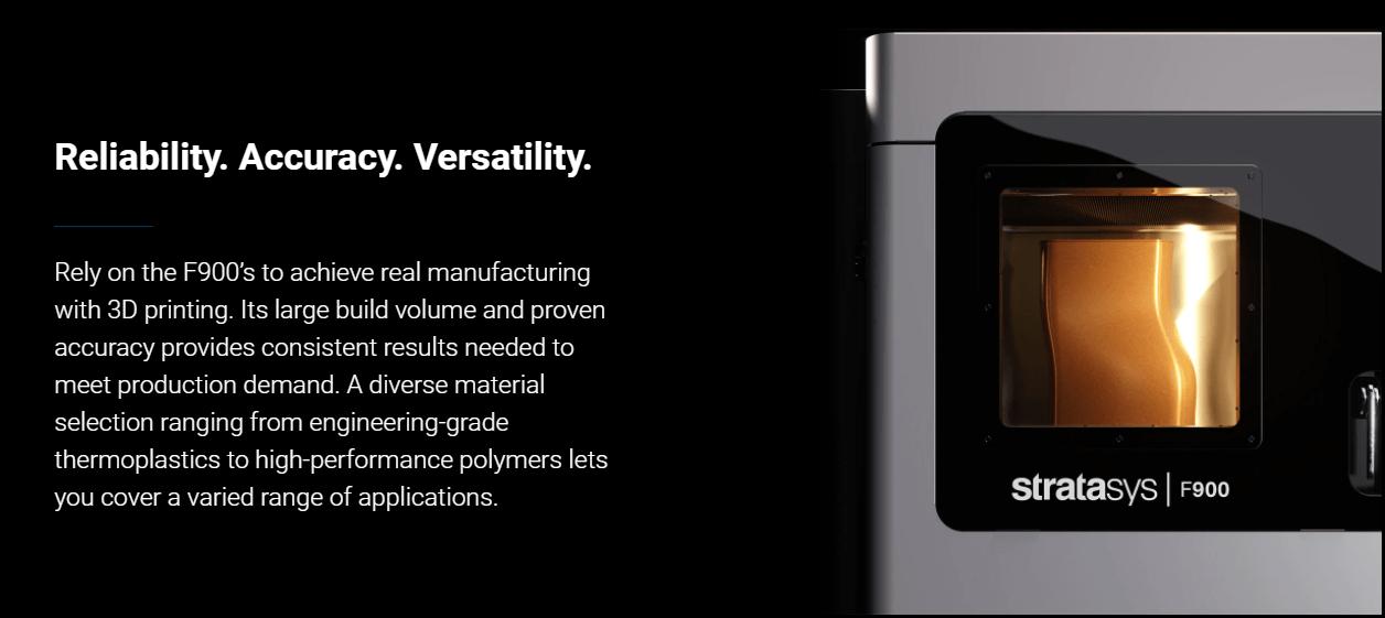 Stratasys F900 description