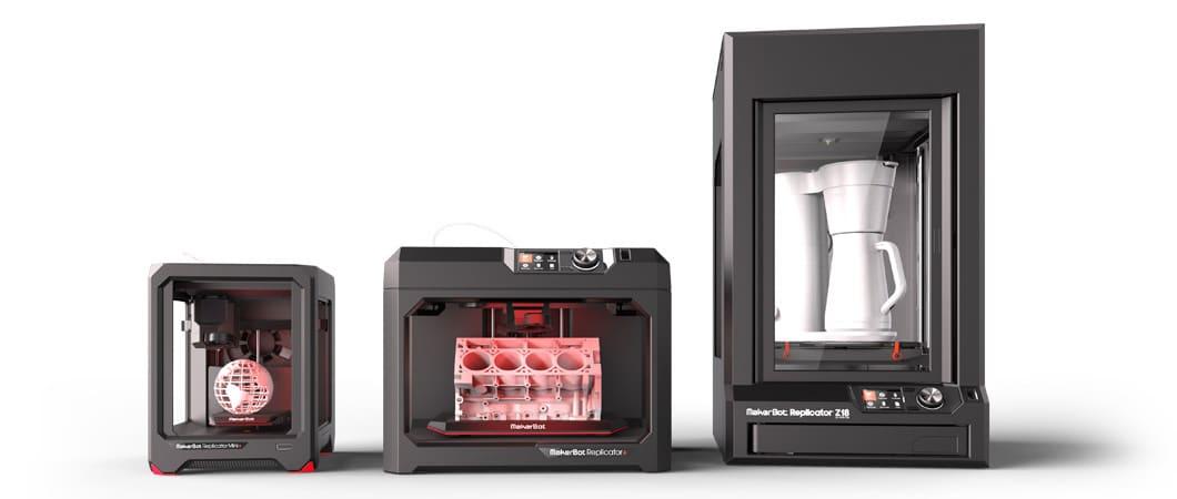Stratasys MakerBot Sketch & Replicator Printers